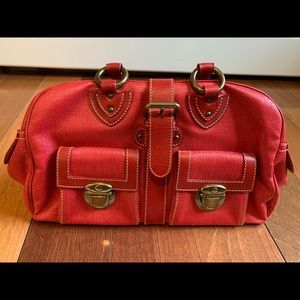 Marc Jacobs red handbag/satchel